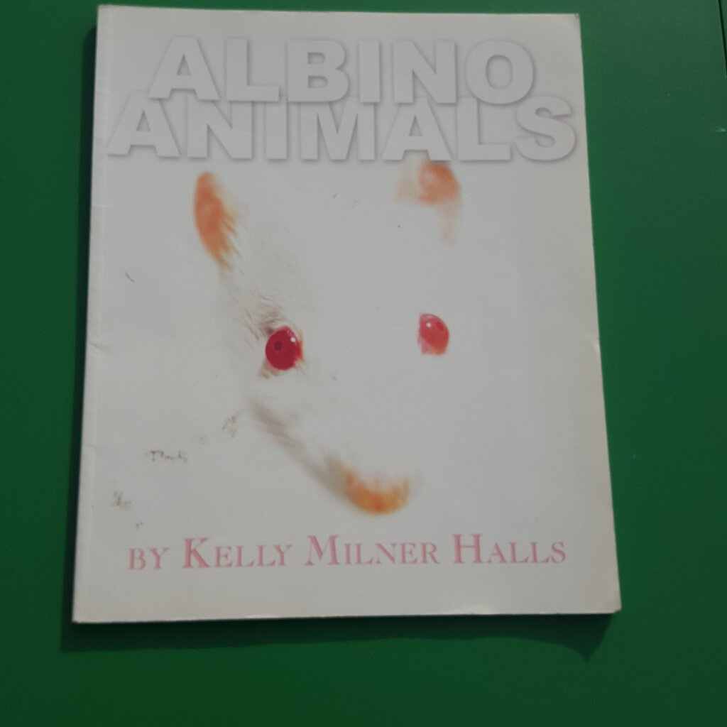 Albino animals-Educational
