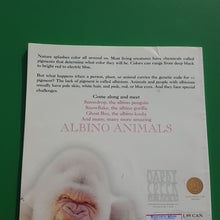 Load image into Gallery viewer, Albino animals-Educational