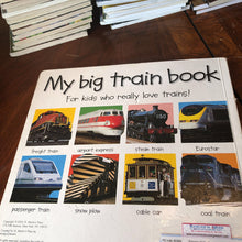 Load image into Gallery viewer, My big train book (Roger Priddy) -Board