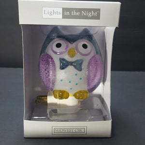 "lights in the night ""owl"""