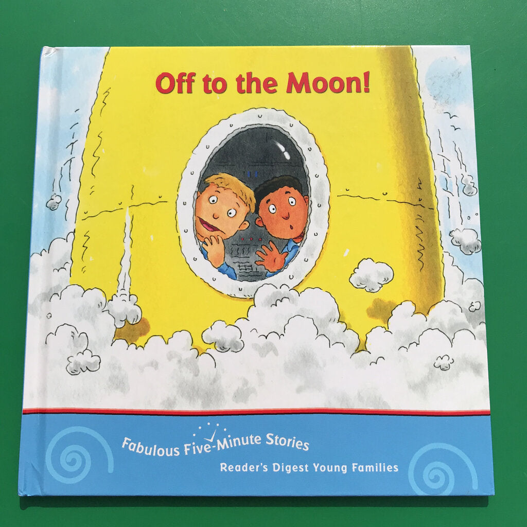 Off To The Moon (Stephanie Marbury) -hardcover