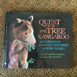 Quest for the tree kangaroo (Sy Montgomery) -hardcover