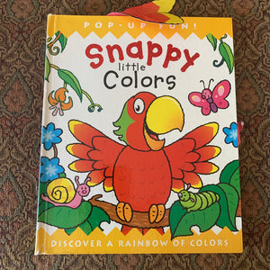 Snappy Little Colors -pop up