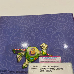 Toy Story Coloring Book -activity