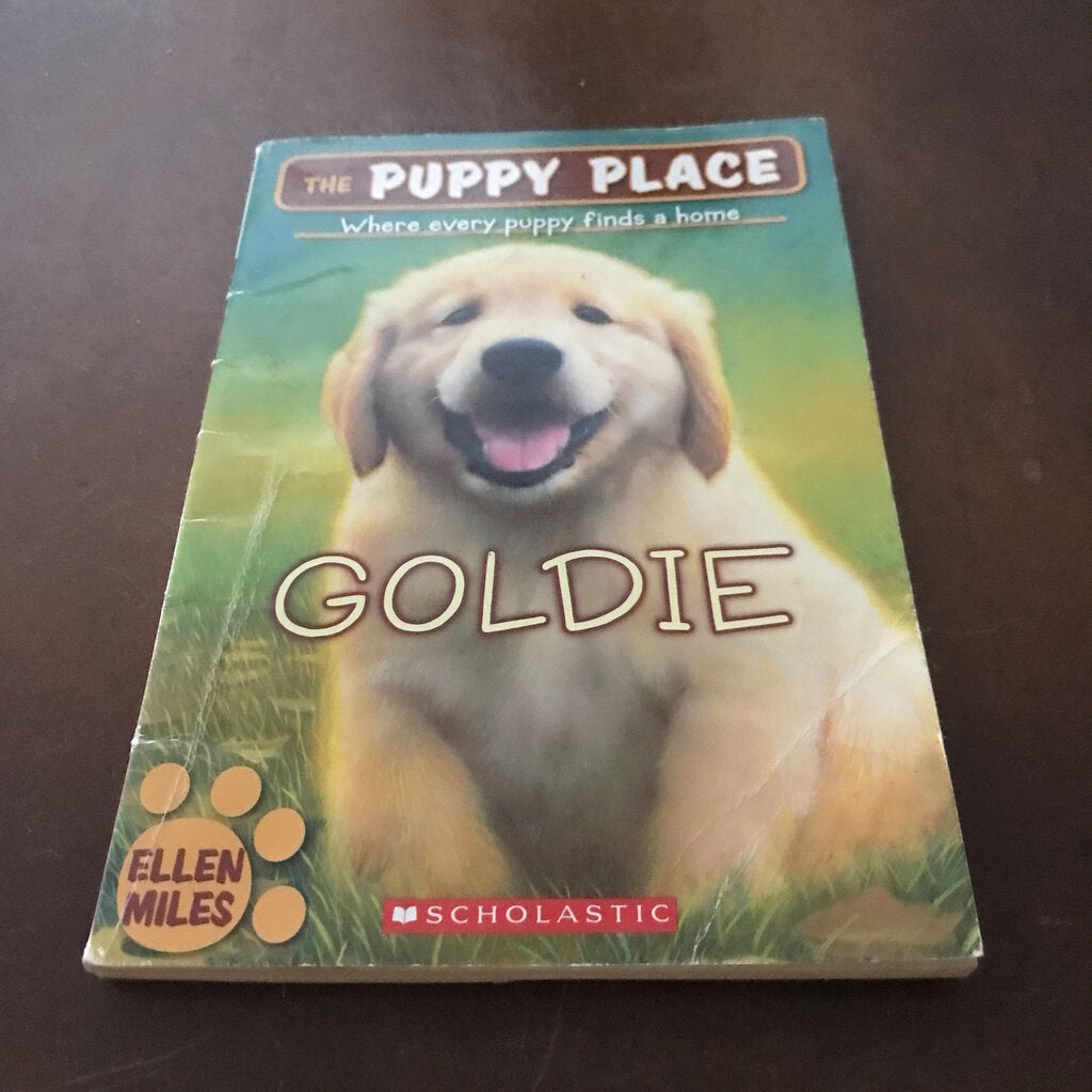 Goldie (Puppy Place) (Ellen Miles) -series