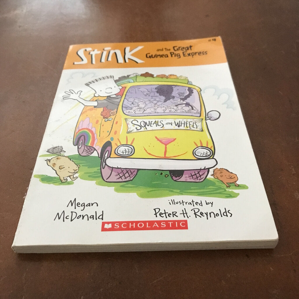 The Great Guinea Pig Express (Stink) (Megan McDonald) -series