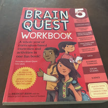 Load image into Gallery viewer, Brain Quest 5th Grade- Workbook