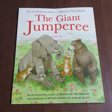 Load image into Gallery viewer, the Giant Jumperee (Julia Donaldson & Helen Oxenbury) -Paperback