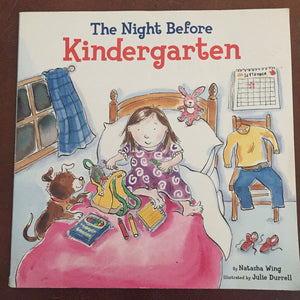 Night Before Kindergarten -school