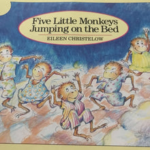Load image into Gallery viewer, Five Little Monkeys Jumping on the Bed (Eileen Christelow) -paperback