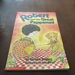 Robert and the Great Pepperoni (Barbara Seuling) -chapter