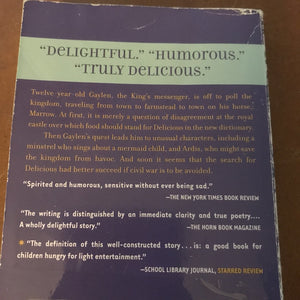 The search for delicious (Natalie Babbitt) -chapter