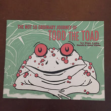 Load image into Gallery viewer, The Not So Ordinary Journey of Todd the Toad (Stan Lake) -paperback