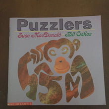 Load image into Gallery viewer, Puzzlers (Suse MacDonald) -paperback