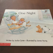 Load image into Gallery viewer, One Night (Jackie Carter) -paperback