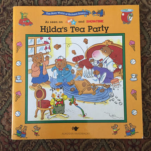 Hilda's Tea Party (Richard Scarry) -paperback
