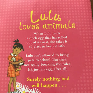 Lulu and the Duck in the Park (Hilary McKay) -chapter