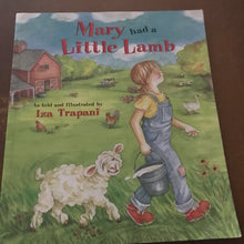 Load image into Gallery viewer, Mary Had a Little Lamb (Iza Trapani) -paperback