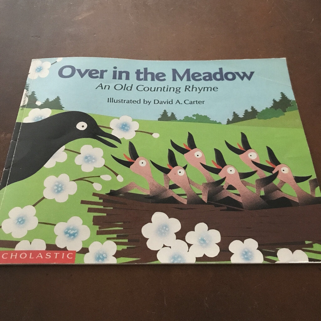 Over in the Meadow (David A. Carter) -paperback