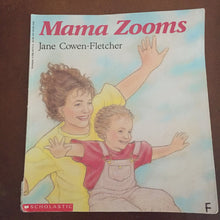 Load image into Gallery viewer, Mama Zooms (Jane Cowen-Fletcher) -paperback
