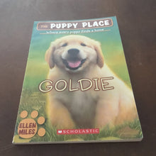 Load image into Gallery viewer, Goldie (Puppy Place) (Ellen Miles) -series