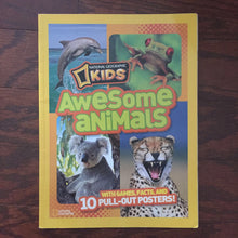 Load image into Gallery viewer, National geographic kids awesome animals -educational