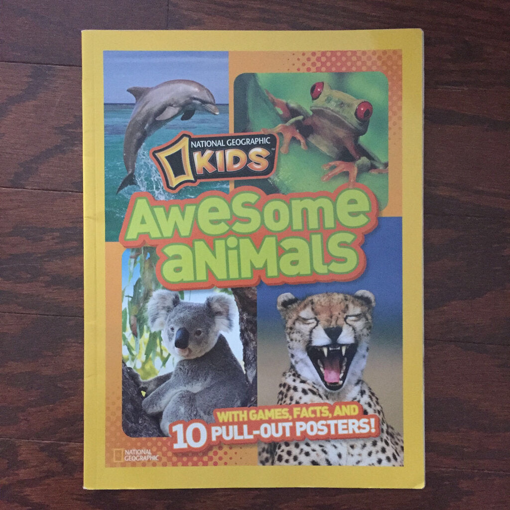 National geographic kids awesome animals -educational