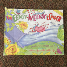 Load image into Gallery viewer, The Eensy-Weensy Spider (Mary Ann Hoberman) -paperback