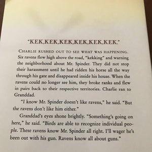 Charlie's Raven (John Craighead George) -chapter