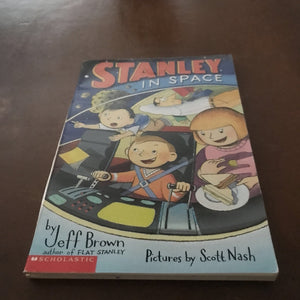 Stanley in Space (Flat Stanley) (Jeff Brown) -series