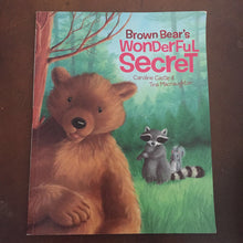Load image into Gallery viewer, Brown Bear's Wonderful Secret (Caroline Castle) - paperback
