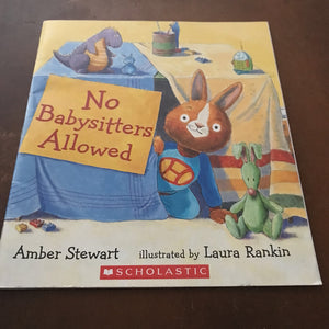 No babysitters allowed (Amber Stewart) -paperback