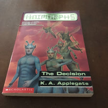 Load image into Gallery viewer, The Decision (Animorphs) (K.A. Applegate) -series