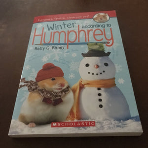 Winter According to Humphrey (Betty G. Birney) -series