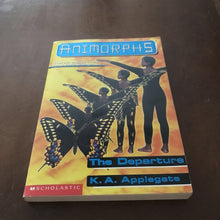Load image into Gallery viewer, The Departure (Animorphs) (K.A. Applegate) -series