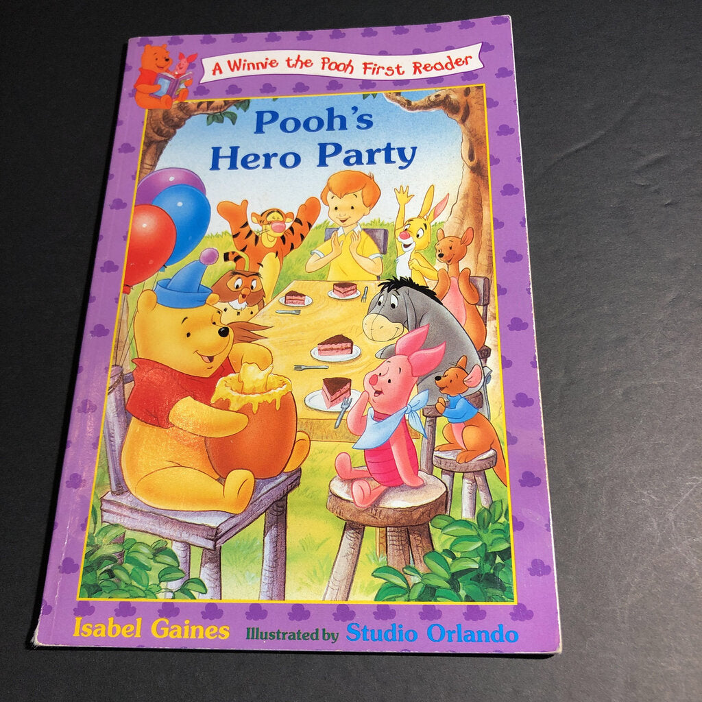 Pooh's Hero Party -reader