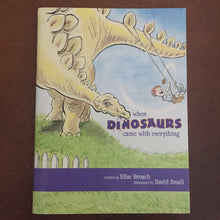 Load image into Gallery viewer, When Dinosaurs Came With Everything (Elise Broach) -paperback