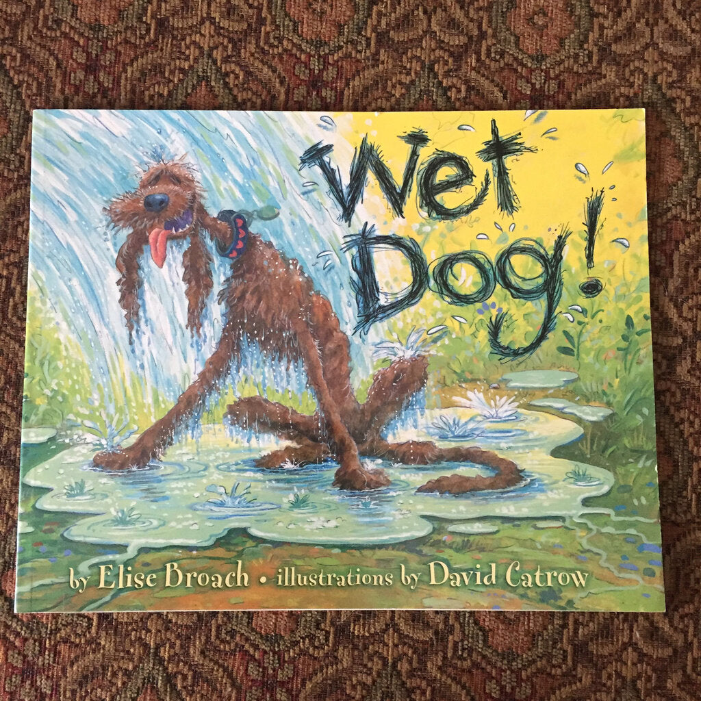 Wet Dog (Elise Broach) -paperback