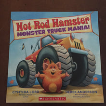 Load image into Gallery viewer, Hot Rod Hamster (monster truck mania) (Cynthia Lord) -paperback