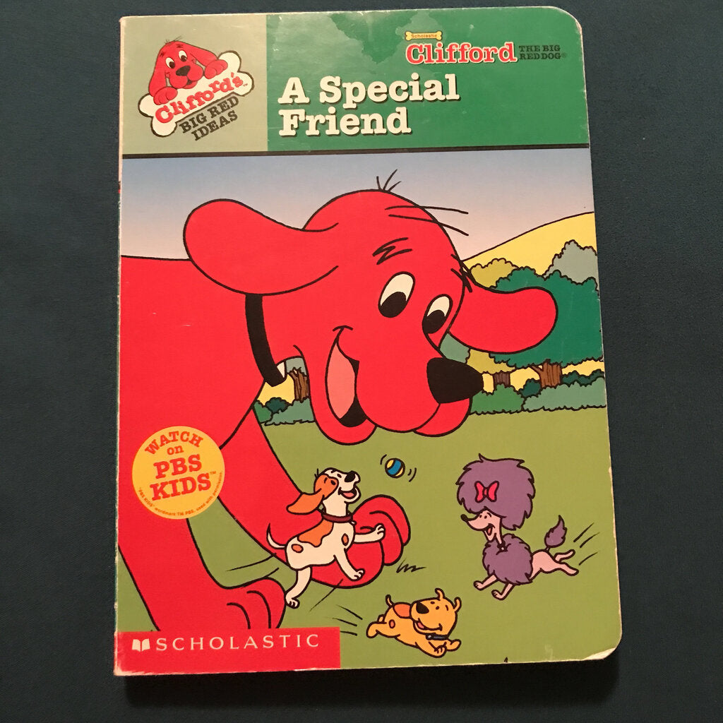 A Special Friend (Clifford)-Character
