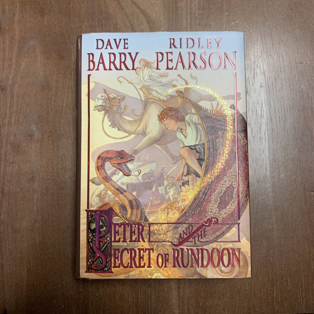 Peter and the Secret of Rundoon (Starcatchers) (Dave Barry) -series