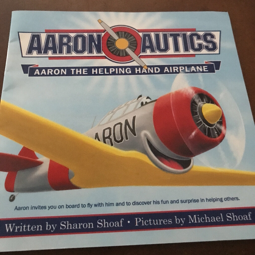 Aaron the Helping Hand Airplane (Sharon Shoaf) -paperback