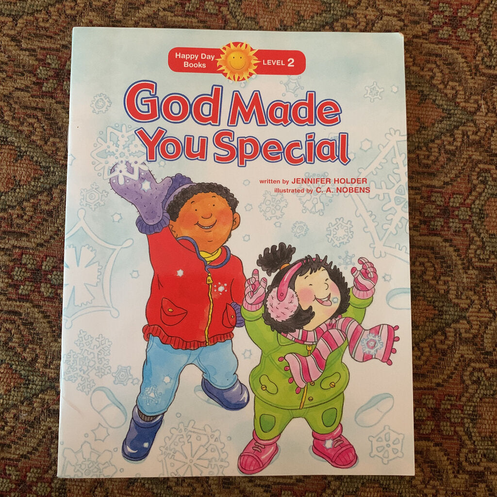 God Made You Special -reader