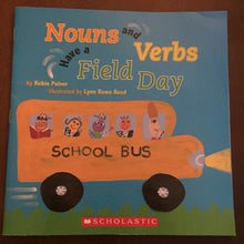 Load image into Gallery viewer, Nouns & Verbs Gave a Field Day -paperback