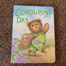 Load image into Gallery viewer, Corduroy's Day -board