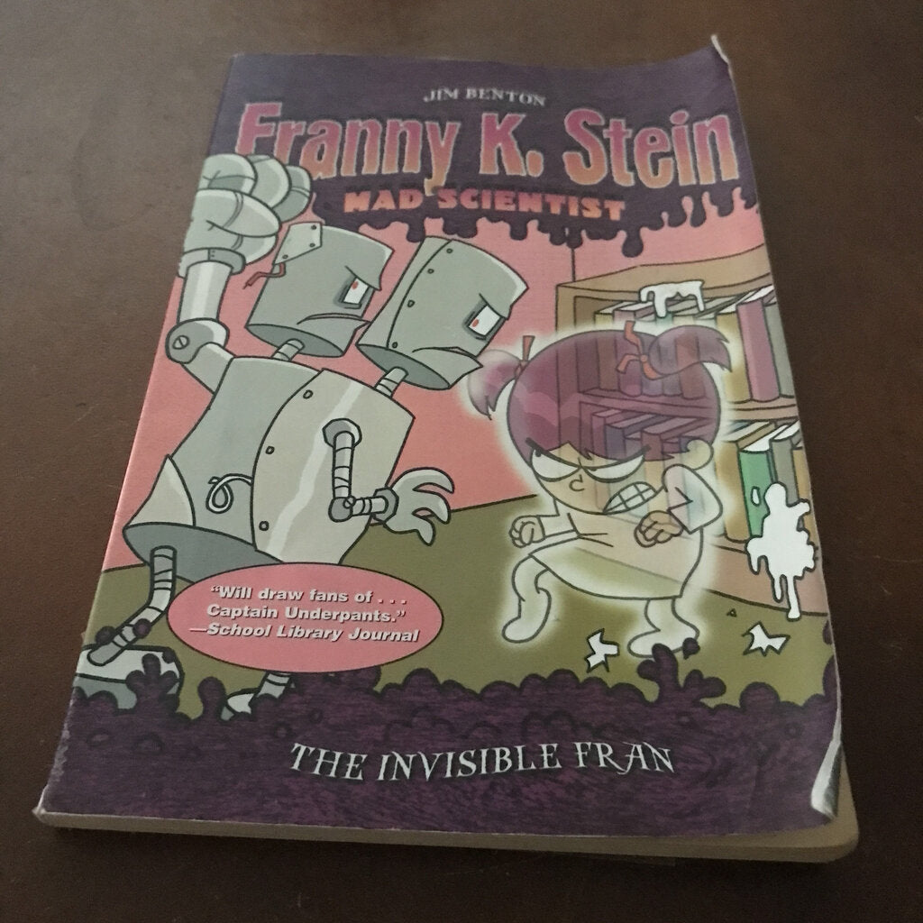The Invisible Fran (Franny K. Stein) (Jim Benton) -series