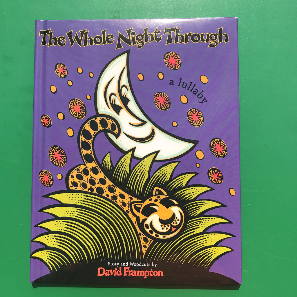 The whole night through (David Frampton) -hardcover