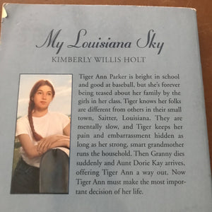 My Louisiana Sky (Kimberly Willis Holt) -chapter