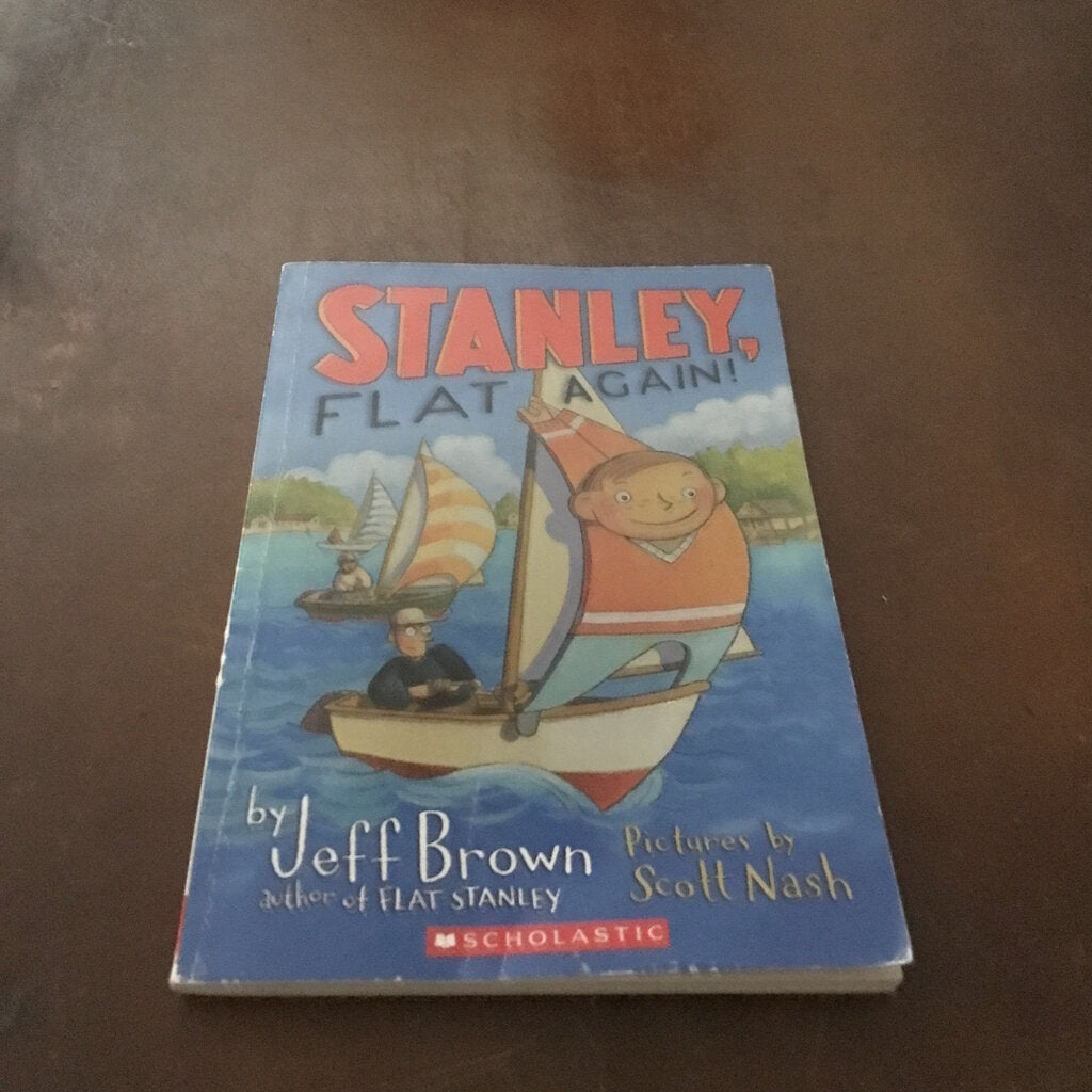 Stanley, Flat Again! (Flat Stanley) (Jeff Brown) -series