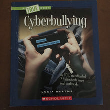 Load image into Gallery viewer, Cyberbullying (Lucia Raatma) -paperback